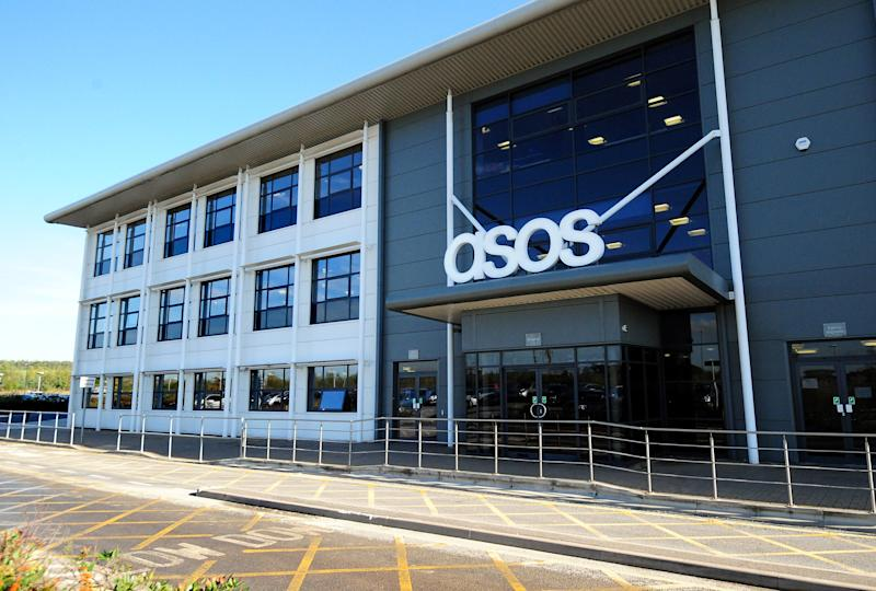 A general view of the ASOS distribution centre near Barnsley, South Yorkshire.