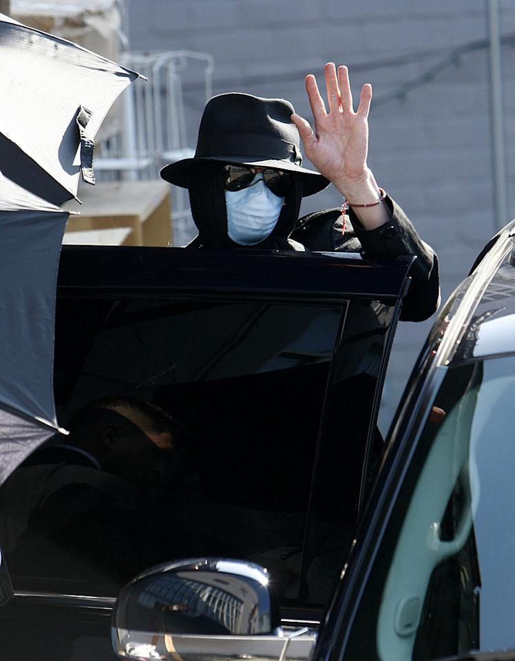 "Jacko's gone Wacko ... literally! Michael Jackson was spotted shopping at the Soap Plant/Wacko store in Los Angeles Thursday. The curio shop is known for its offbeat merchandise. <a href=""http://www.x17online.com"" target=""new"">X17 Online</a> - March 12, 2009"