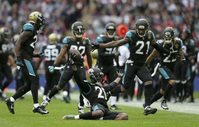 Jalen Ramsey is an emerging star, and the Jacksonville defense is legit. Add as needed. (AP Photo/Tim Ireland)