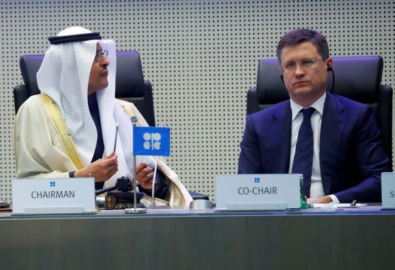 Saudi Arabia gets physical with Russia in underground oil bout
