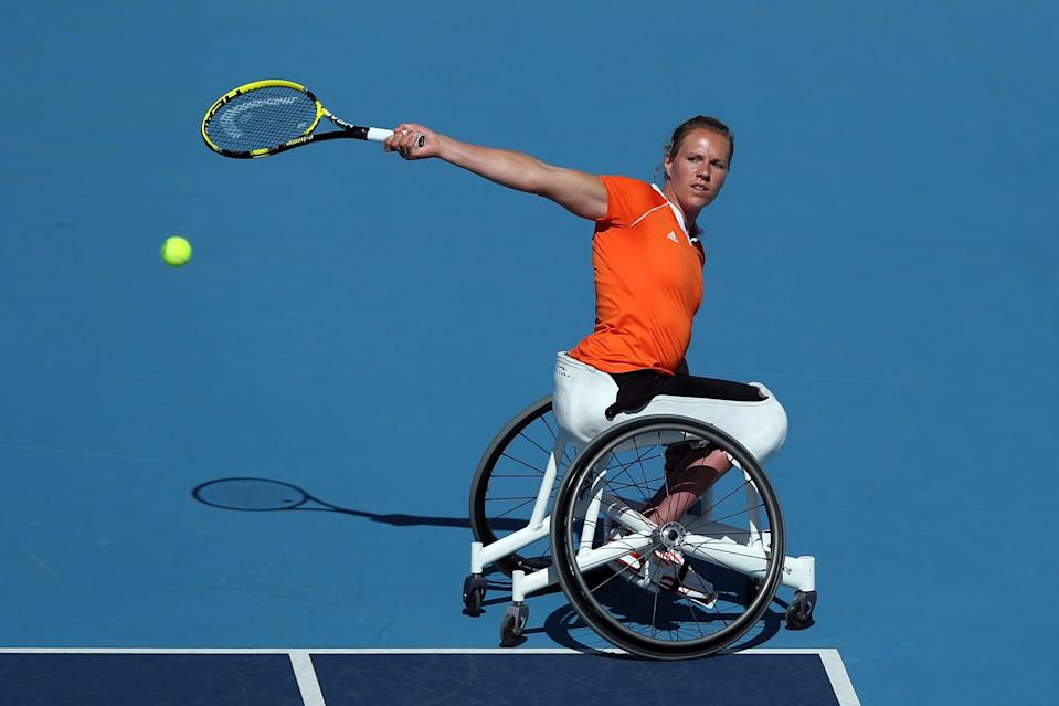 She Was Discovered by Dutch Wheelchair Legend Esther Vergeer