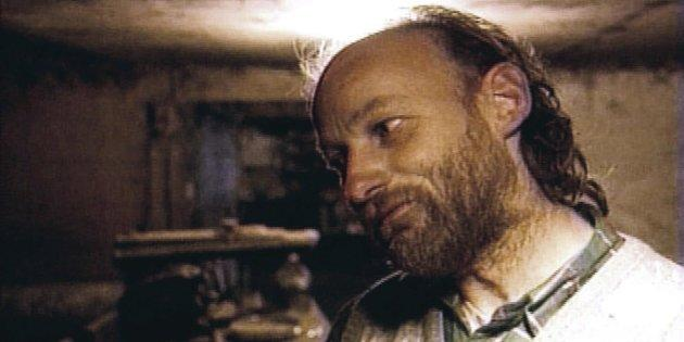 Robert William Pickton is shown in an undated picture taken from TV.