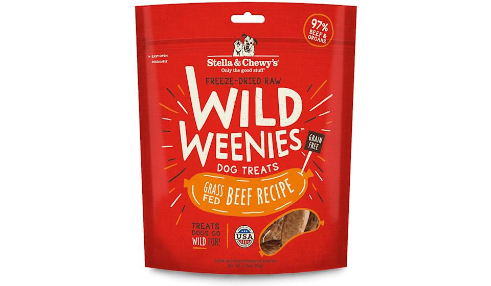 Your dog will truly go wild for these weenies (Photo: Amazon)