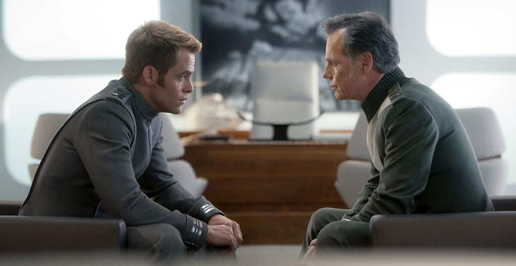 "Chris Pine and Bruce Greenwood in Paramount Pictures' ""Star Trek Into Darkness"" - 2013"