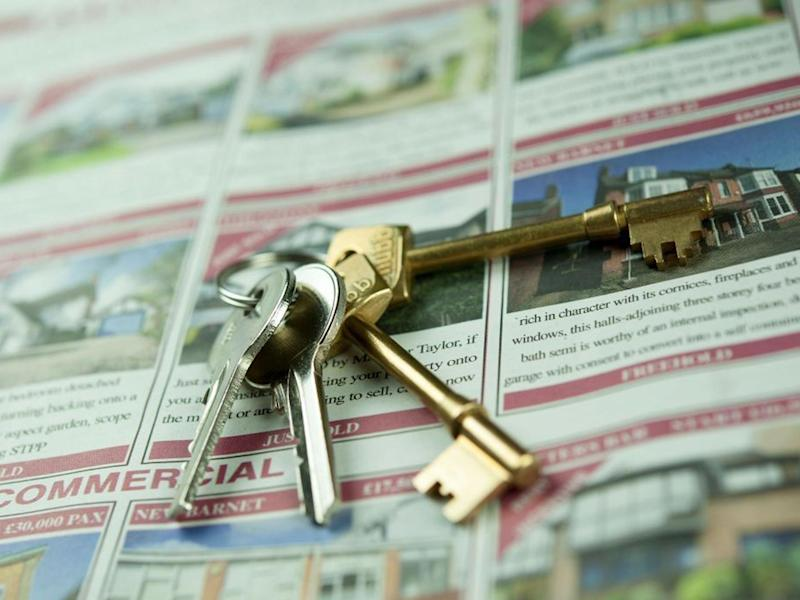 Just 31 per cent of 25-29 year-olds now own their own property: Alamy