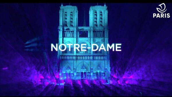 new year's eve countdown - notre dame 2021 nye