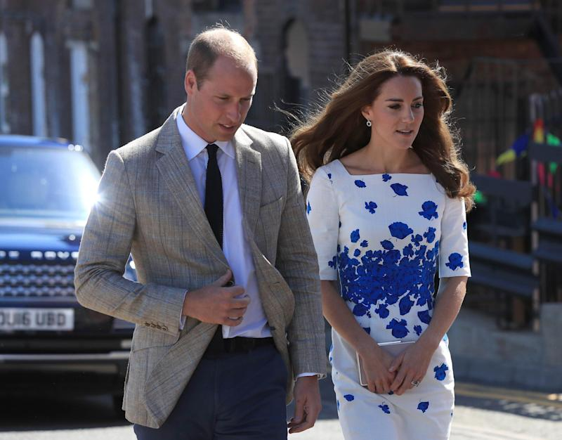 Court hearing: Prince William's statement was read out in court: PA