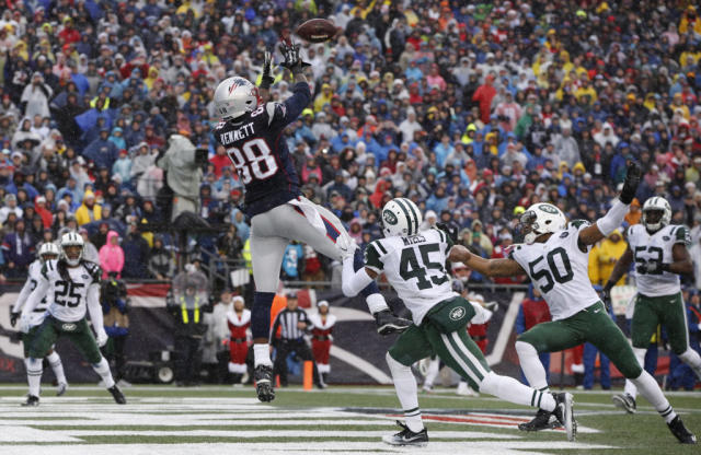 Claiming Martellus Bennett Was No-Brainer For Red Zone-Needy Patriots