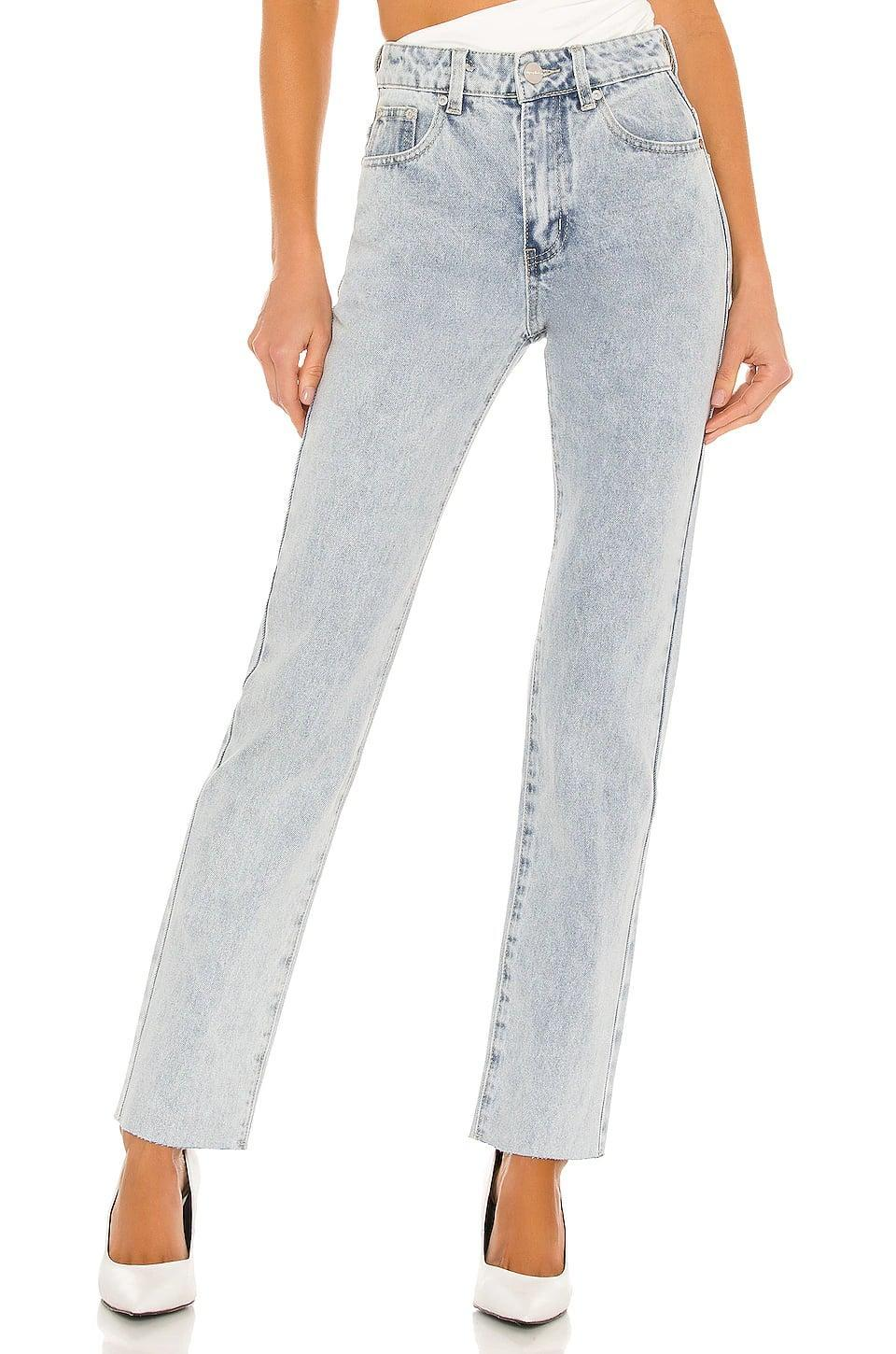 """<p>""""The <span>Superdown Dylan Straight Denim Jeans</span> ($72) are the pair I've been living in because they basically feel like sweats. Especially coupled with a spaghetti tank, I love the early 2000s vibes they emit."""" - Sarah Wasilak, editor, Fashion</p>"""