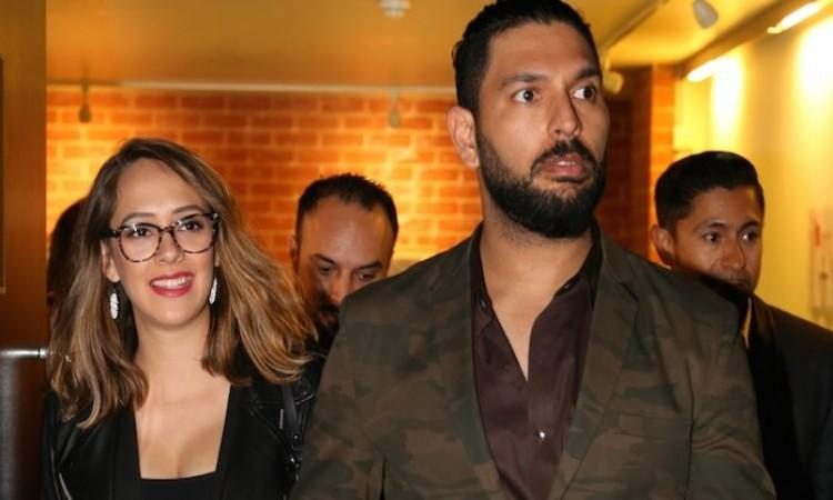 """<p>Gurugram/Chandigarh, Oct 18 (IANS)Veteran cricketer Yuvraj Singh has been named in a complaint of domestic violence filed by his sister-in-law Akanksha Sharma but his family lawyer said that no case has been registered against the player.<br /> <br /> The complaint was filed against Yuvraj's younger brother Zorawar Singh Bhundel and mother Shabnam Singh for alleged mental and financial torture. A court in Gurugram has issued a notice to Yuvraj and his family to respond by October 21 when the first hearing on the case will take place.<br /> <br /> Akanksha has alleged that she was under pressure from her in-laws who wanted her to have a baby. She has also alleged that she named Yuvraj in the complaint as he was a mute spectator during her predicament.<br /> <br /> """"Not a single day had gone when I did not go to bed in that house crying,"""" CNN-News18 quoted Akanksha as saying on Wednesday.<br /> <br /> The matter will be investigated by a SDM or lady police officer who will submit a report to the court.<br /> <br /> """"Yes, Akanksha has filed a case of domestic violence against Yuvraj, Zoravar and their mother Shabnam,"""" a website quoted Akanksha's lawyer Swati Singh as saying.<br /> <br /> """"Look, domestic violence does not mean just physical violence. It also means mental and financial torture, which can be attributed to Yuvraj. Yuvraj was a mute spectator to the suffering caused to my client by Zoravar and his mother,"""" she added.<br /> <br /> """"When Zorawar and his mother were pressurising Akanksha to have a baby, Yuvraj too had joined in to do the same. He too told Akanksha ato have a baby'. He was hand-in-glove with his mother.""""<br /> <br /> Damanbir Singh Sobti, counsel for Yuvraj, Shabnam and Zorawar, denied that any case was registered against the cricketer.<br /> <br /> In a press statement issued in Chandigarh on Wednesday, Sobti said: """"There are certain misrepresentations being made in social media that a criminal complaint or an FIR has been registered agains"""