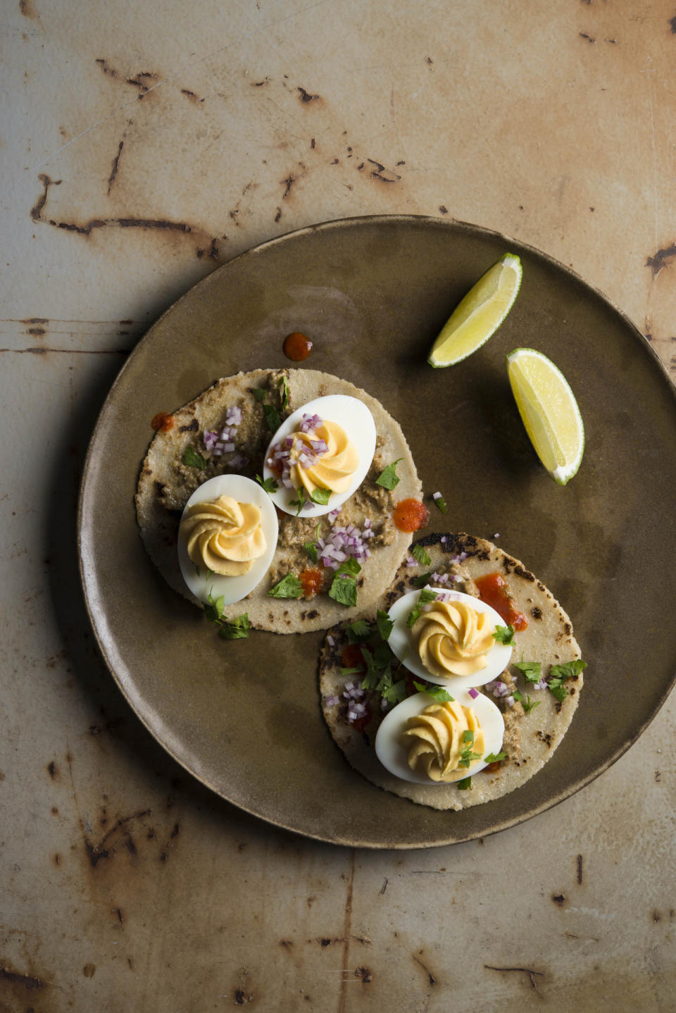 Deviled Egg Tacos With Sikil Pak From Tacos