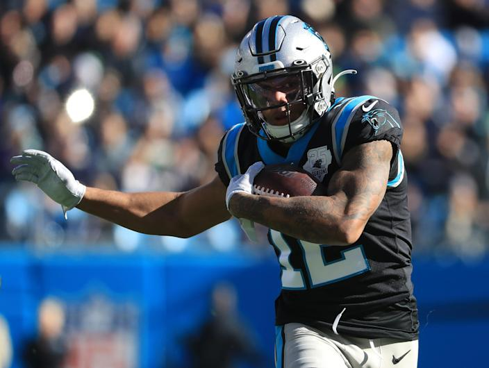 Carolina Panthers wide receiver DJ Moore #12