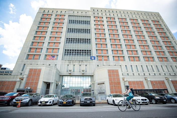 Ghislaine Maxell's federal prison has been hit with a major Covid outbreak and it may help her secure bail (Getty Images)