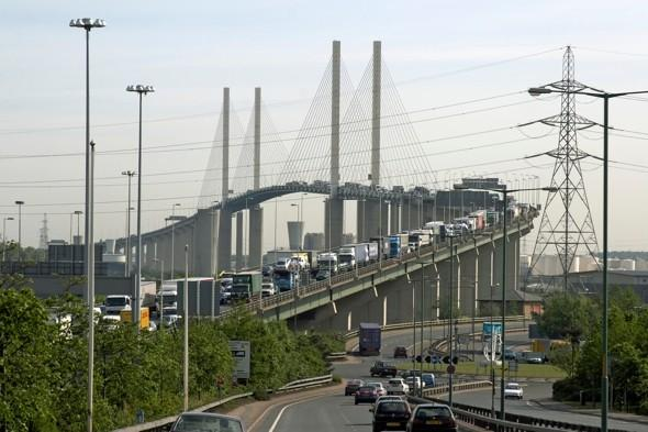 Motorists stranded for hours after bomb scare closes Dartford tunnel