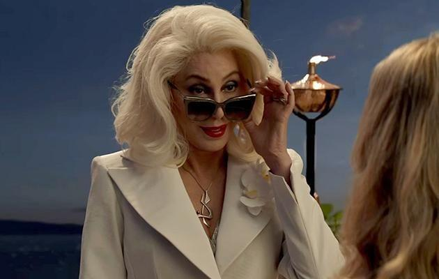 Music icon Cher also makes an appearacne polaying Sophie's grandmother Ruby. Source: Supplied