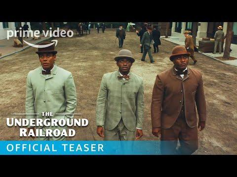 """<p><strong>Watch now on Prime Video</strong></p><p>Academy Award winning director Barry Jenkins has adapted the Pulitzer Prize winning novel of the same name by Colson Whitehead for a limited TV mini-series.</p><p>The story follows Cora Randall as she escapes a Georgian plantation, desperate for freedom and heads to the rumoured Underground Railroad. Upon arrival she discovers that far from a rumour, the railroad exists and is full of engineers and train conductors — with a secret network of tracks and tunnels running beneath the ground.</p><p>As she grapples with her past demons or her mother abandoning her and faces the prospect of a future she never thought possible, bounty hunter Ridgeway has followed her from the plantation, intent on catching her and bringing her back - something he as never able to do with her mother.</p><p><a class=""""link rapid-noclick-resp"""" href=""""https://www.waterstones.com/book/the-underground-railroad/colson-whitehead/9780708898406"""" rel=""""nofollow noopener"""" target=""""_blank"""" data-ylk=""""slk:SHOP THE BOOK NOW"""">SHOP THE BOOK NOW</a></p><p><a href=""""https://youtu.be/Qn0MzTcryTA"""" rel=""""nofollow noopener"""" target=""""_blank"""" data-ylk=""""slk:See the original post on Youtube"""" class=""""link rapid-noclick-resp"""">See the original post on Youtube</a></p>"""