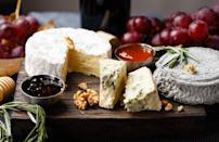 """<p>Knowing how to assemble the perfect charcuterie platter with meats and <a href=""""https://www.thedailymeal.com/travel/cheese-around-the-world-everyone-should-try?referrer=yahoo&category=beauty_food&include_utm=1&utm_medium=referral&utm_source=yahoo&utm_campaign=feed"""" rel=""""nofollow noopener"""" target=""""_blank"""" data-ylk=""""slk:cheeses from around the world"""" class=""""link rapid-noclick-resp"""">cheeses from around the world</a> is a great skill, but save the cheese for a dinner party. Dairy and the sun are not friends. That blue cheese that was so creamy and flavorful when you bought it will be a hot, stinky mess in a matter of moments.</p>"""