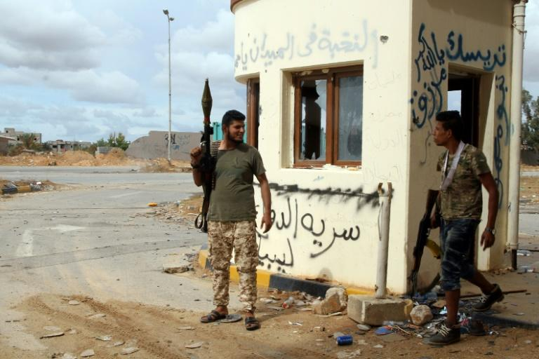 A report by UN experts says warring parties in Libya have resorted to various means to skirt a UN arms embargo including by enlisting foreign fighters through deals with middlemen and recruiters