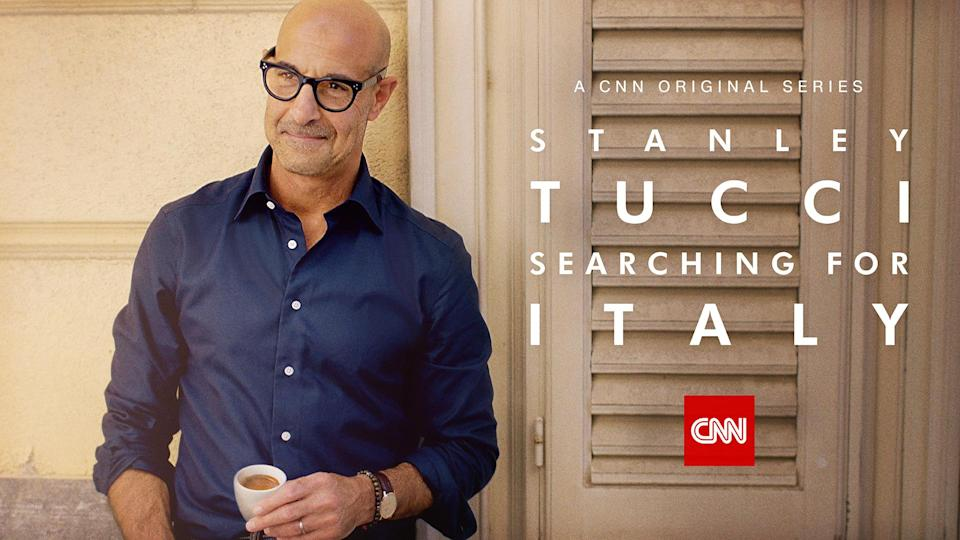 """""""Stanley Tucci: Searching for Italy."""" - Credit: Courtesy of CNN"""