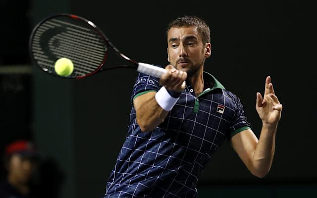 <span>Cilic continued his struggles in Indian Wells</span>