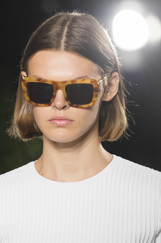 <p><i>Tortoise frames from the SS18 Carolina Herrera collection. (Photo: ImaxTree) </i></p>