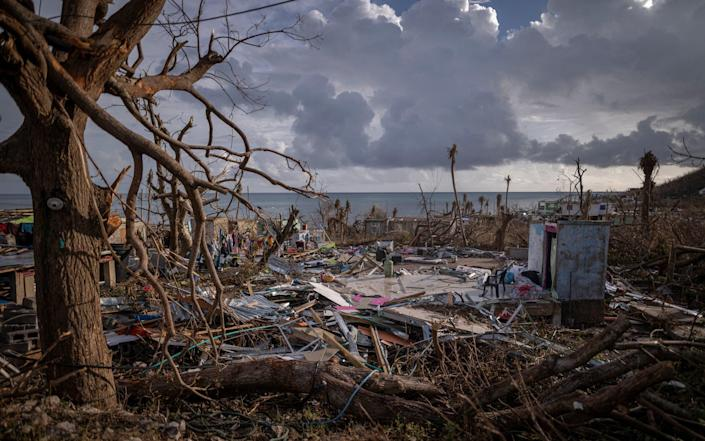 Aftermath of Hurricane Iota in the Colombian Caribbean - Getty Images South America/Diego Cuevas