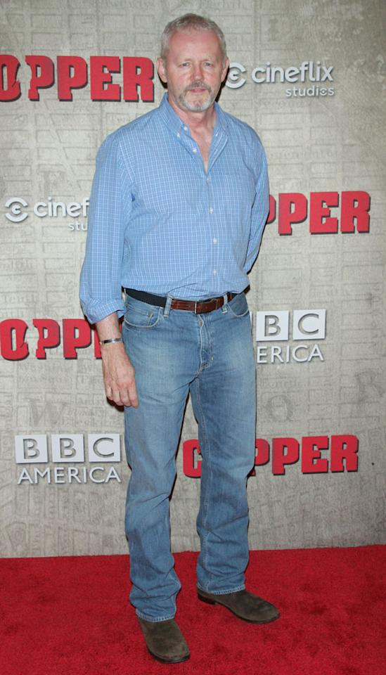 """David Morse attends the """"Copper"""" premiere at The Museum of Modern Art on August 15, 2012 in New York City."""