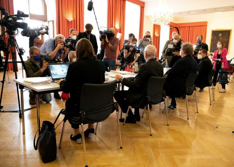 The case is the first of 15 lawsuits filed by plaintiffs from Austria and Germany (AFP/JOE KLAMAR)