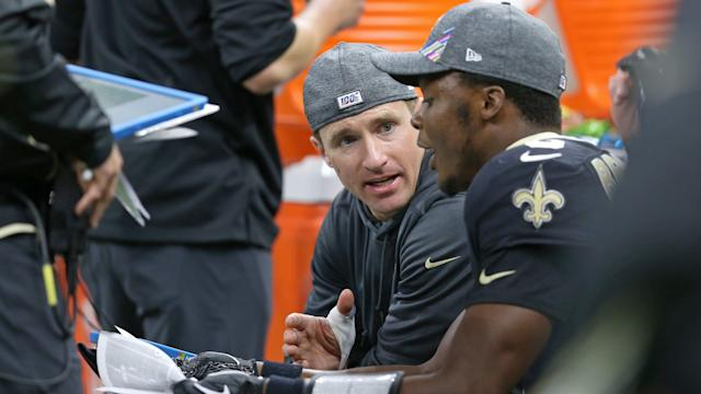 New Orleans Saints quarterback Drew Brees aims to play against Arizona Cardinals in Week 8