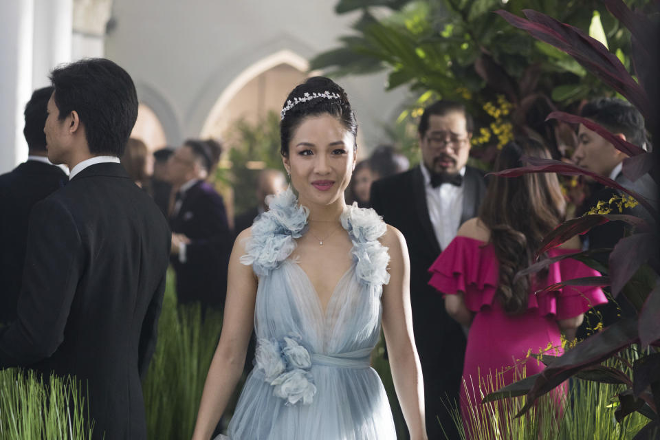 "<p> This image released by Warner Bros. Entertainment shows Constance Wu in a scene from the film ""Crazy Rich Asians."" (Sanja Bucko/Warner Bros. Entertainment via AP) </p>"