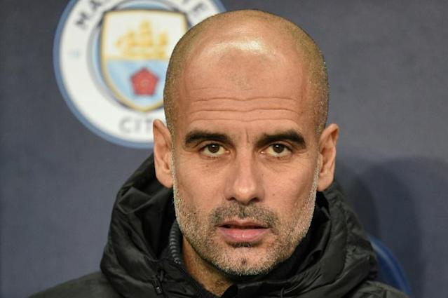 Manchester City manager Pep Guardiola (AFP Photo/Oli SCARFF )