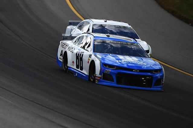 Alex Bowman gained 10 spots throughout Monday's race. (Getty Images)