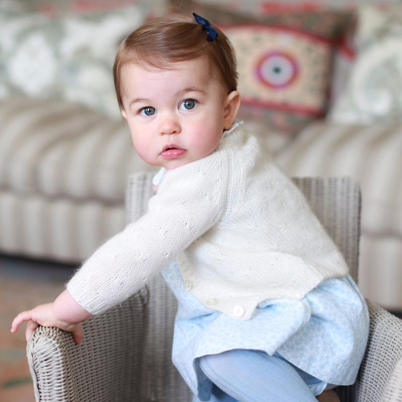 Proof That Princess Charlotte Is the Spitting Image of Queen Elizabeth