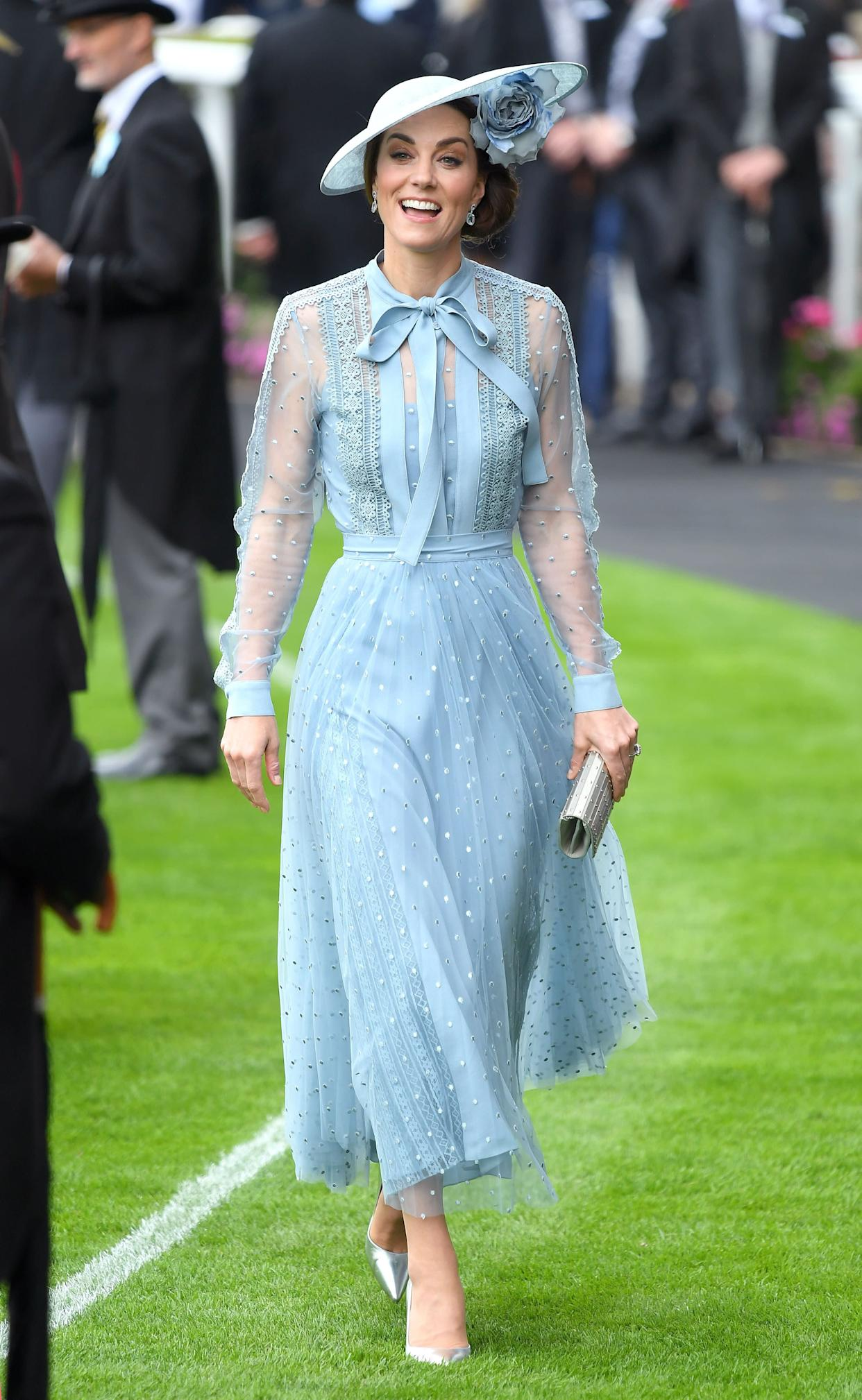 The Duchess of Cambridge stole the show. (Photo: Karwai Tang via Getty Images)