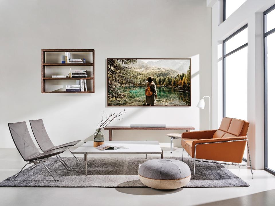 Samsung's new TV model The Frame is the must-have for your home.  (Samsung)