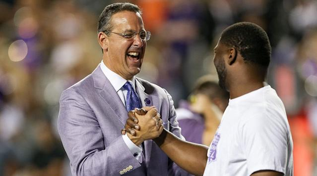 "<p>Texas has reeled in one of the best ADs in college sports. A source told SI that TCU's Chris Del Conte will be hired by UT.</p><p>The affable Del Conte will replace Longhorn athletic director Mike Perrin, who took over on an interim basis in 2015 after Steve Patterson was canned by university president Greg Fenves.</p><p>In a wide-ranging survey of ADs and national media by SI this year, Del Conte <a href=""https://www.si.com/college-football/2017/08/17/athletic-director-rankings-joe-castiglione-kevin-white"" rel=""nofollow noopener"" target=""_blank"" data-ylk=""slk:received the second-most points"" class=""link rapid-noclick-resp"">received the second-most points</a> amongst his peers, trailing only OU's Joe Castiglione. Among Del Conte's biggest accomplishments at TCU were getting the Horned Frogs into the Big 12 Conference and over $300 million in construction projects that were all donor funded.</p><p>• <a href=""http://www.si.com/college-football/2017/12/06/bowl-games-rankings-tv-schedule-viewing-guide"" rel=""nofollow noopener"" target=""_blank"" data-ylk=""slk:Bowl Entertainment Rankings: From Can't-Miss Matchups to Uninspiring Undercards"" class=""link rapid-noclick-resp"">Bowl Entertainment Rankings: From Can't-Miss Matchups to Uninspiring Undercards</a></p><p>On Del Conte's watch, five TCU head coaches (Gary Patterson, football; Jim Schlossnagle, baseball; Karen Monez, rifle; David Roditi, men's tennis; Haley Schoolfield, equestrian) have been named National Coach of the Year in their respective sports. Jamie Dixon, hired in March 2016 as head men's basketball coach, received National Coach of the Year accolades at Pittsburgh.</p><p>Del Conte was the recipient of a 2015 NACDA Under Armour AD of the Year Award and the 2010 Bobby Dodd Division I-A Athletic Director's Award. </p>"