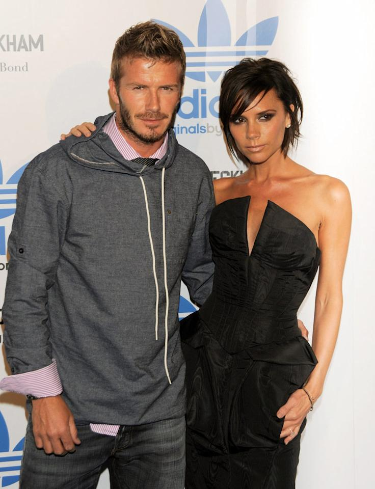 """Former Spice Girl Victoria Adams scored herself the hottest guy in soccer when she wed David Beckham in 1999. Todd Williamson/<a href=""""http://www.wireimage.com"""" target=""""new"""">WireImage.com</a> - September 30, 2009"""