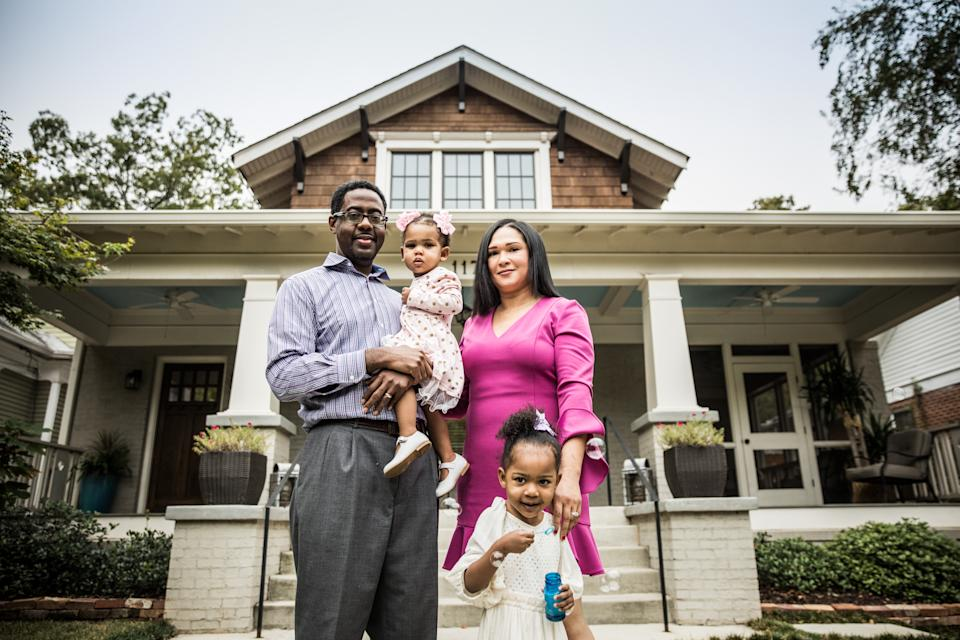 Black households considerably trail white households in other money markers like median income and have a harder time getting approved for credit, the study found. (Photo: Getty)