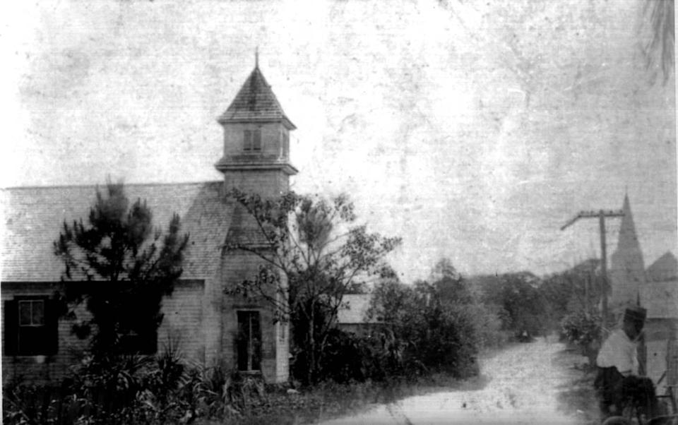 The original Macedonia Missionary Baptist Church, which was founded in Coconut Grove in 1895. It's the oldest Black church in Miami-Dade County, and it's celebrating its 125th anniversary.