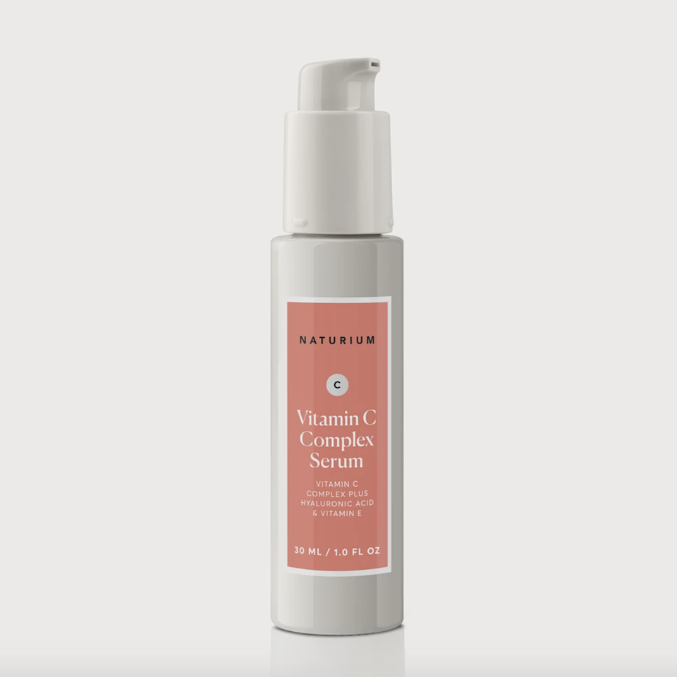 """<p>""""This $20 serum feels like it should be way more expensive,"""" says board-certified dermatologist Angelo Landriscina of Naturium's Vitamin C Complex Serum. """"The vitamin C in this formula is stabilized with gold and glutathione to ensure good shelf life, and it has a super-light texture that makes it easy to introduce into an existing skin-care routine."""" </p> <p>Needless to say, this is a great option for anyone looking for a budget-friendly brightening serum that offers high-end results.</p> $20, Amazon. <a href=""""https://www.amazon.com/Vitamin-Serum-22-Anti-Aging-Anti-Wrinkle/dp/B07Y469VXX"""" rel=""""nofollow noopener"""" target=""""_blank"""" data-ylk=""""slk:Get it now!"""" class=""""link rapid-noclick-resp"""">Get it now!</a>"""
