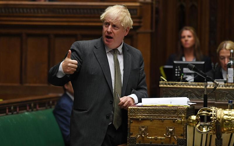 Boris Johnson will say that ministers are 'transforming the foundations of the skills system'