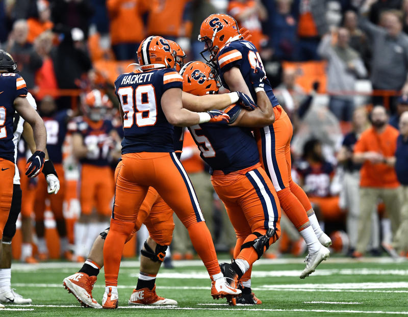 Syracuse beats Wake Forest 39-30 in OT