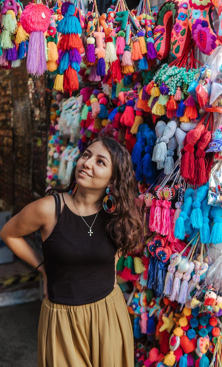 Deafinitely Wanderlust's Stacey Valle says masks obscure the facial expressions she and other deaf and hard-of-hearing individuals rely on to communicate. (Photo: Stacey Valle)