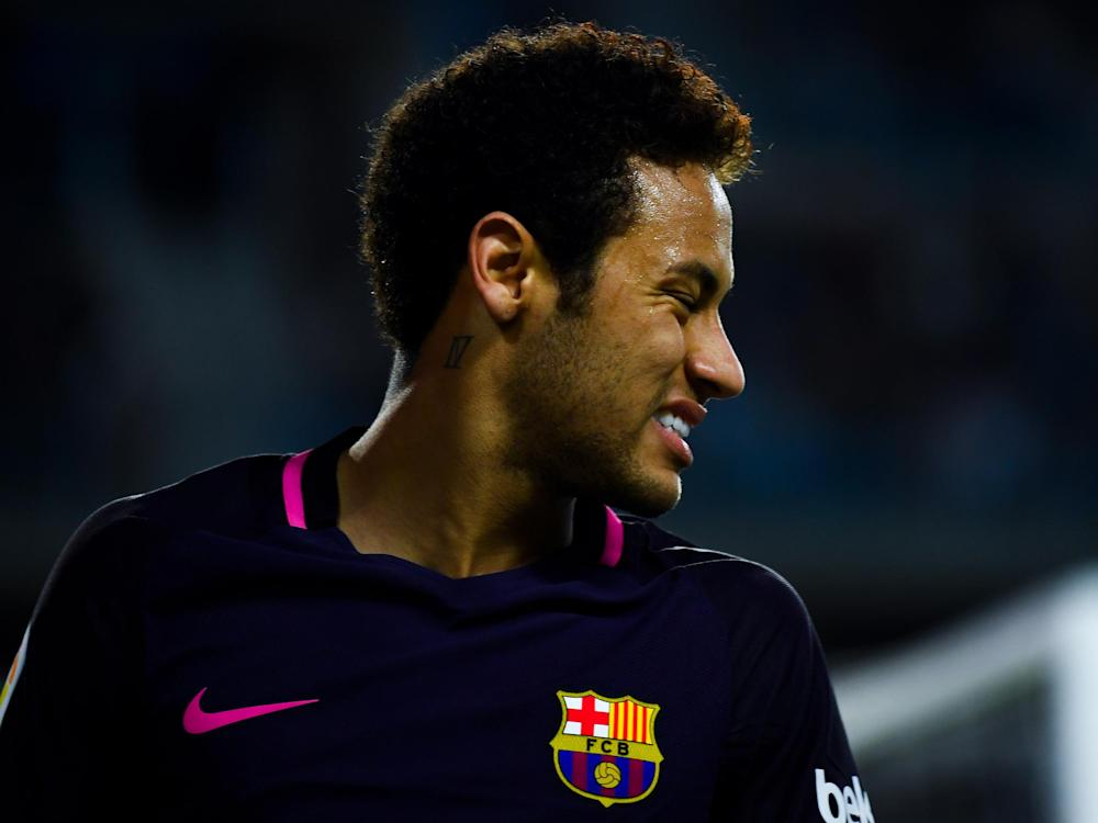 Neymar must earn his forgiveness from the snarling support: Getty