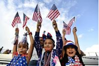 """<p><strong>Lakewood, Colorado</strong></p><p>Celebrating the 4th of July holiday with fireworks, family and festivities at the <a href=""""https://www.lakewood.org/Government/Departments/Community-Resources/Arts-and-Culture/Arts-and-Culture-Events/Big-Boom-Bash"""" rel=""""nofollow noopener"""" target=""""_blank"""" data-ylk=""""slk:Annual Big Boom Bash"""" class=""""link rapid-noclick-resp"""">Annual Big Boom Bash</a> is as easy as apple pie at JeffCo Stadium.</p>"""