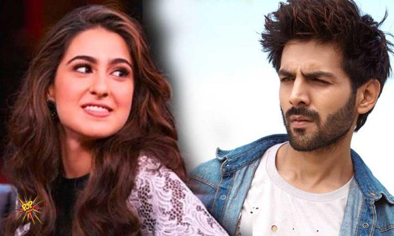 Image result for Sara Ali Khan, Kartik Aaryan