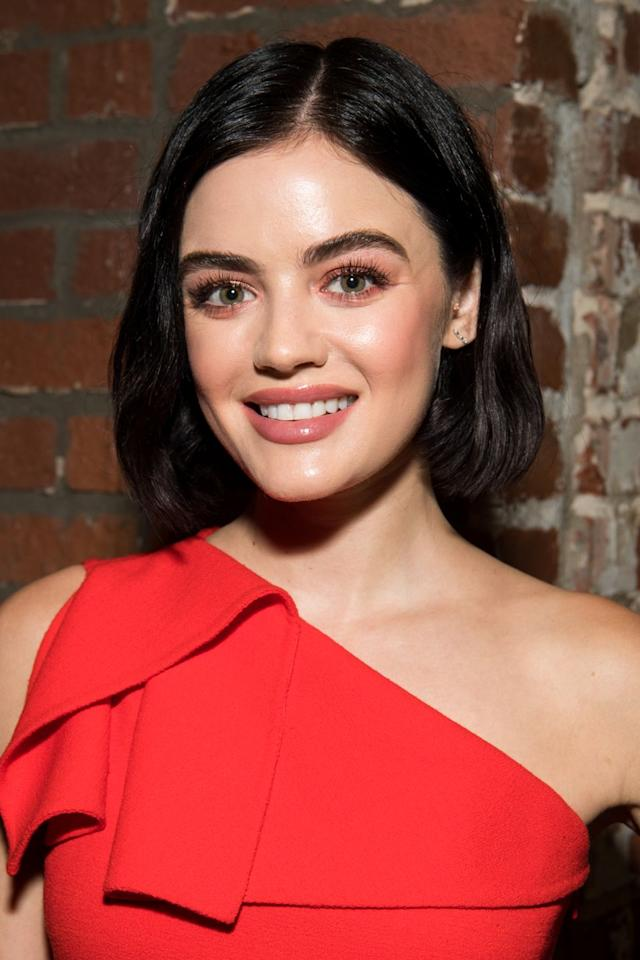 """<p>The <em>Pretty Little Liars </em>star told <a href=""""https://www.byrdie.com/lucy-hale"""" target=""""_blank"""">Byrdie</a> she was drinking to try and fit in when she first became famous but that she has """"no interest"""" in that lifestyle anymore.</p>"""