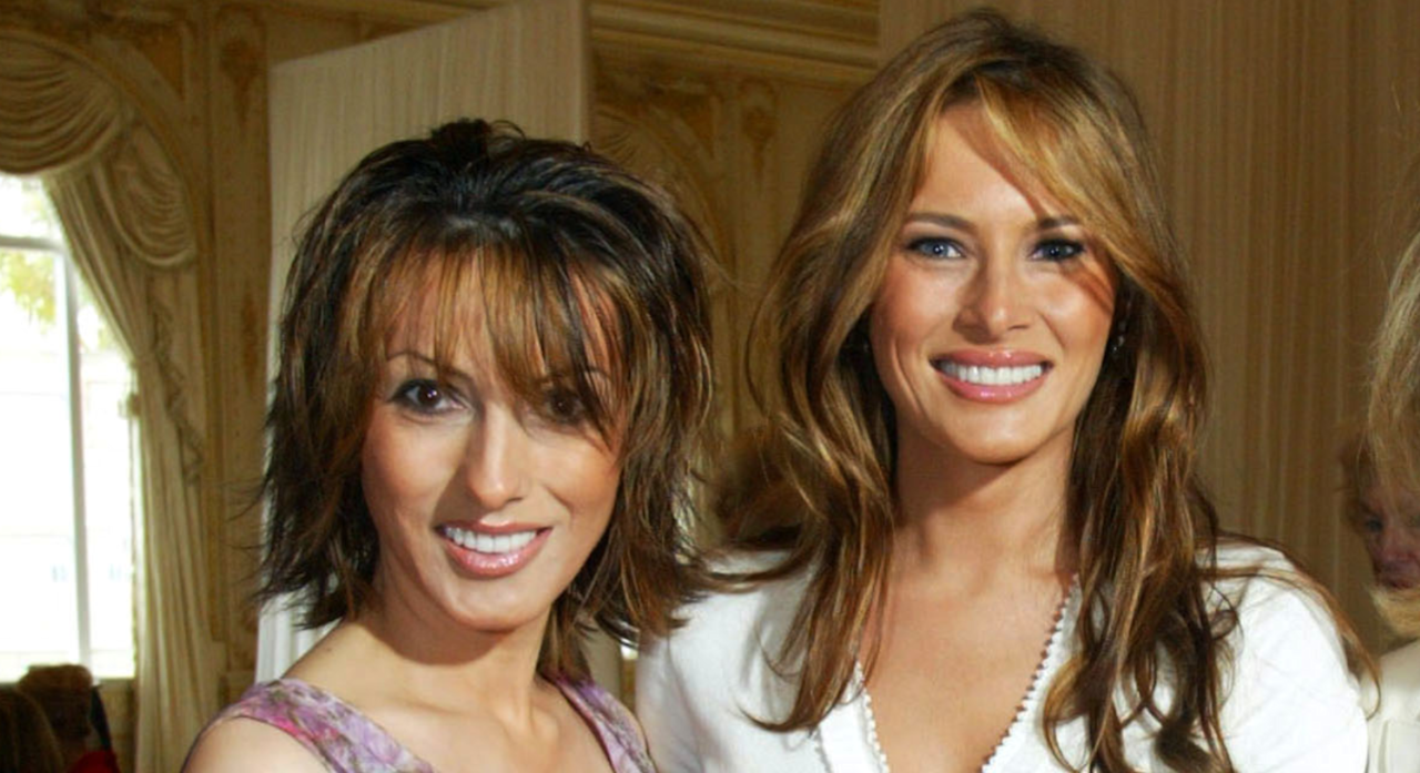 Forget fake Melania, Ines could step in for her sister. Melania Trump is said to have a great relationship with her older sister, Ines Knauss. There's two years between the two and you can hardly tell the difference. <em>[Photo: Getty]</em>