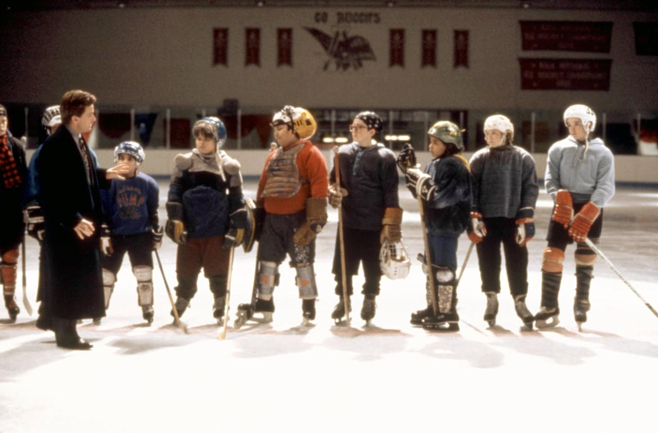 """<p><strong>HBO Max's Description:</strong> """"When high and mighty lawyer Gordon Bombay (Emilio Estevez) is arrested on DUI charges, he's forced into a community service project: coaching ice-hockey to a team of sloppy, unskilled kids who lose annually to their crosstown rivals. Armed with new equipment, new recruits, a new name (The Ducks) and a driven coach, the ragtag team look to settle an old score.""""</p> <p><a href=""""https://play.hbomax.com/feature/urn:hbo:feature:GW_L6Ngx0N6rCXQEAAAEw"""" target=""""_blank"""" class=""""ga-track"""" data-ga-category=""""Related"""" data-ga-label=""""https://play.hbomax.com/feature/urn:hbo:feature:GW_L6Ngx0N6rCXQEAAAEw"""" data-ga-action=""""In-Line Links"""">Watch <strong>The Mighty Ducks</strong> on HBO Max here!</a></p>"""
