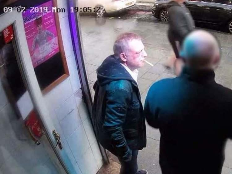 CCTV footage issued by the Crown Office showed Thomas Allan following an incident in which he assaulted Jason Haig, who later died from his injuries: Crown Office / PA Wire